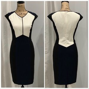 🛍 Ann Taylor colorblock dress size 6
